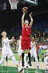 Yuka Mamiya (JPN), AUGUST 6, 2016 - Basketball : <br /> Women's Preliminary Round <br /> between  Japan 77-73 Belorussiya  <br /> at Youth Arena <br /> during the Rio 2016 Olympic Games in Rio de Janeiro, Brazil. <br /> (Photo by Yusuke Nakanishi/AFLO SPORT)