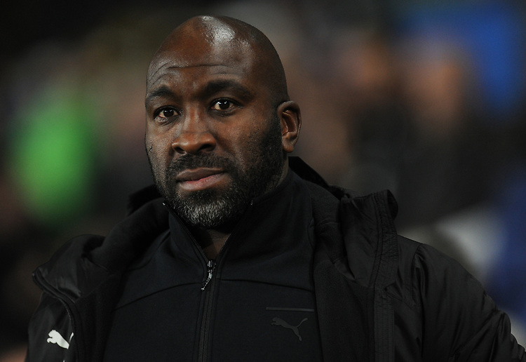 West Bromwich Albion manager Darren Moore <br /> <br /> Photographer Kevin Barnes/CameraSport<br /> <br /> The EFL Sky Bet Championship - Swansea City v West Bromwich Albion - Wednesday 28th November 2018 - Liberty Stadium - Swansea<br /> <br /> World Copyright &copy; 2018 CameraSport. All rights reserved. 43 Linden Ave. Countesthorpe. Leicester. England. LE8 5PG - Tel: +44 (0) 116 277 4147 - admin@camerasport.com - www.camerasport.com