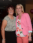 Sandra Kelly and Suzanne O'Rourke pictured at Pat Donaghy's 70th birthday in Tommy Hanratty's. Photo:Colin Bell/pressphotos.ie
