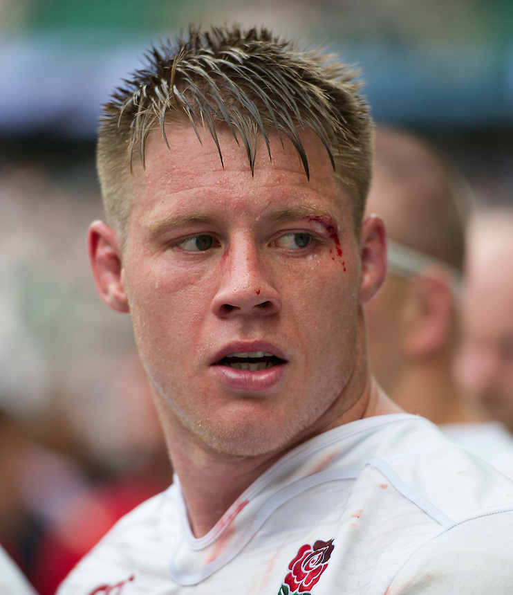 Teimana Harrison of England<br /> <br /> Photographer Ashley Western/CameraSport<br /> <br /> International Rugby Union Friendly  - Old Mutual Wealth Cup - England v Wales - Sunday 29th May 2016 - Twickenham, London<br /> <br /> World Copyright &copy; 2016 CameraSport. All rights reserved. 43 Linden Ave. Countesthorpe. Leicester. England. LE8 5PG - Tel: +44 (0) 116 277 4147 - admin@camerasport.com - www.camerasport.com