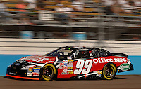 Nov 12, 2005; Phoenix, Ariz, USA;  Nascar Nextel Cup driver Carl Edwards driver of the #99 Office Depot Ford during qualifying for the Checker Auto Parts 500 at Phoenix International Raceway. Mandatory Credit: Photo By Mark J. Rebilas