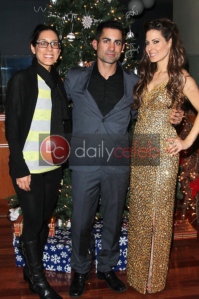 Julie Kasem, Mike Kasem, Kerri Kasem<br />