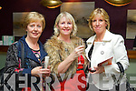 Pictured at the Official Launch of Herbs & Roses by C Spa at the Carlton Hotel on Thursday evening were, from left: Catherine Healy, Marian Keogh and Marian Robbins, all from Tralee.