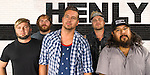 HENLY band promotional images shot in studio by JDrago Photography.