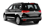 Car pictures of rear three quarter view of 2016 Volkswagen Touran Highline 5 Door Mini Mpv Angular Rear