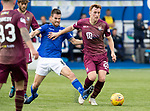 Queen of the South v St Johnstone&hellip;18.08.18&hellip;  Palmerston    BetFred Cup<br />LIam Craig is fouled by Kyle Jacobs<br />Picture by Graeme Hart. <br />Copyright Perthshire Picture Agency<br />Tel: 01738 623350  Mobile: 07990 594431