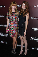 WESTWOOD, CA - NOVEMBER 06: Bella Thorne, Dani Thorne at The Hollywood Reporter's Next Gen 20th Anniversary Gala held at the Hammer Museum on November 6, 2013 in Westwood, California. (Photo by Xavier Collin/Celebrity Monitor)