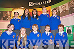 5th class students at CBS Primary School enjoying the last opportunity to view the 'Spymaster' exhibition at Kerry County Museum. .Back L-R Ian Moynihan, Sabina Krokova, Adriana Godlova, Cilian O'Riordan and  Morgan Moriarty. .Front L-R Holly Tuohy, Eve Roche, Tom Healy, Kevin Kedzierski and Aaron Pittman. .