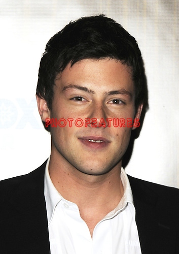 Cory Monteith at the Fox Winter All Star Party at Villa Sorisso on January 11th, 2010 in Pasadena, California
