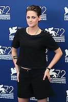 Kristen Stewart attends the photocall for the movie 'Equals' during 72nd Venice Film Festival at the Palazzo Del Cinema, in Venice, Italy, September 5, 2015. <br /> UPDATE IMAGES PRESS/Stephen Richie