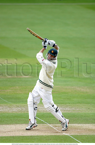 ANDY BLIGNAUT batting for Zimbabwe, England v ZIMBABWE, First test match, NPower test series, Lord's, 030524. Photo: Steve Bardens/Action Plus...2003.Cricket .batsman batsmen.