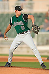 Augusta starting pitcher Joe Martinez (16) winds up to deliver the ball to the plate versus the Kannapolis Intimidators at Fieldcrest Cannon Stadium in Kannapolis, NC, Saturday, June 17, 2006.