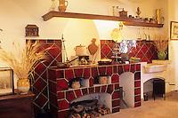 France/06/Alpes-Maritimes/Arrière pays niçois/Villeneuve-Loubet: Musée d'art culinaire: cuisine ancienne [Non destiné à un usage publicitaire - Not intended for an advertising use]
