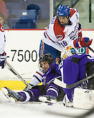 Tyler Elbrecht (Mankato - 16), Riley Wetmore (Lowell - 16) - The visiting Minnesota State University-Mankato Mavericks defeated the University of Massachusetts-Lowell River Hawks 3-2 on Saturday, November 27, 2010, at Tsongas Arena in Lowell, Massachusetts.