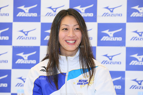 Aya Terakawa, .NOVEMBER 30, 2012 - Swimming : .Aya Terakawa attends a press conference .of 2013 new Mizuno brand swimsuits .at S'PORT Mizuno, Tokyo, Japan. .(Photo by YUTAKA/AFLO SPORT) [1040]