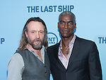 WASHINGTON, DC - JUNE 4: Actors John Pyper-Ferguson and Charles Parnell attends The Last Ship premiere screening, a partnership between TNT and the U.S. Navy on June 4, 2014 in Washington, D.C. Photo Credit: Morris Melvin / Retna Ltd.