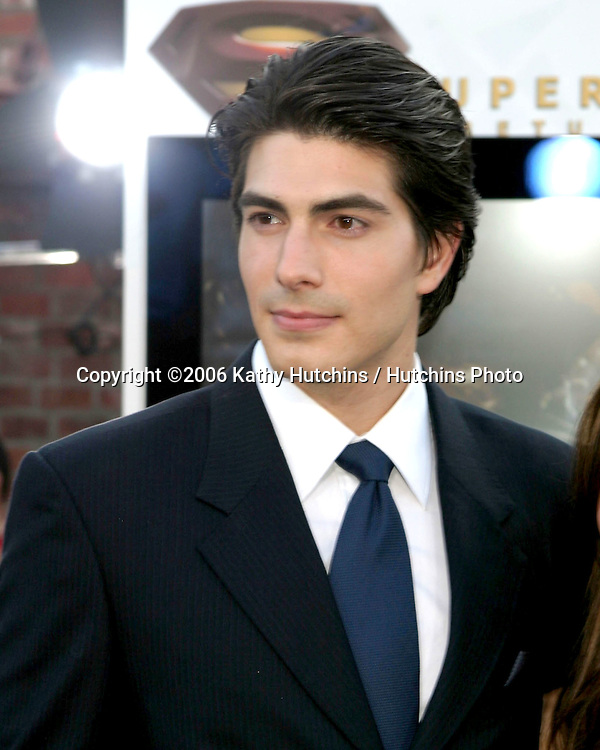 "Brandon Routh .""Superman Returns"" Premiere.Mann's Village Theater.Westwood, CA.June 21, 2006.©2006 Kathy Hutchins / Hutchins Photo...."