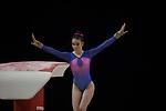 British Gymnastics Championships 2017<br /> The Liverpool Echo Arena<br /> Hana Davies Llanelli Gymnastics Club<br /> 25.03.17<br /> &copy;Steve Pope - Sportingwales