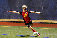 Buffalo, NY - Saturday Sept. 17, 2016: McCall Zerboni during a friendly international match between the Western New York Flash and the Women's National Team of Thailand at Demske Sports Complex at Canisius College. The United States defeated the Netherlands 3-1.