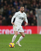 Burnley's Steven Defour<br /> <br /> Photographer Rob Newell/CameraSport<br /> <br /> The Premier League - Saturday 1st December 2018 - Crystal Palace v Burnley - Selhurst Park - London<br /> <br /> World Copyright &copy; 2018 CameraSport. All rights reserved. 43 Linden Ave. Countesthorpe. Leicester. England. LE8 5PG - Tel: +44 (0) 116 277 4147 - admin@camerasport.com - www.camerasport.com