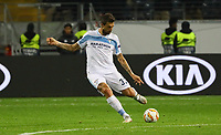 Francesco Acerbi (Lazio Rom) - 04.10.2018: Eintracht Frankfurt vs. Lazio Rom, UEFA Europa League 2. Spieltag, Commerzbank Arena, DISCLAIMER: DFL regulations prohibit any use of photographs as image sequences and/or quasi-video.