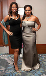 The 2011 Houston Area Women's Center Gala Mistress of Ceremonies - Fox 26 Anchor and Reporter, Melinda Spaulding and Red Carpet Host - CBS Radio's Mix 96.5 radio personality, Ayana Mack.