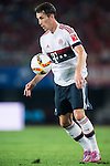 Pierre-Emile Hojbjerg of Bayern Munich in action during the Bayern Munich vs Guangzhou Evergrande as part of the Bayern Munich Asian Tour 2015  at the Tianhe Sport Centre on 23 July 2015 in Guangzhou, China. Photo by Aitor Alcalde / Power Sport Images
