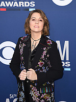LAS VEGAS, NEVADA - APRIL 07: Brandi Carlile attends the 54th Academy Of Country Music Awards at MGM Grand Hotel &amp; Casino on April 07, 2019 in Las Vegas, Nevada. <br /> CAP/MPIIS<br /> &copy;MPIIS/Capital Pictures