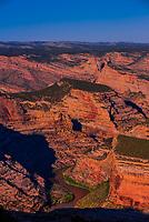 Canyons near Echo Park, Dinosaur National Monument, Colorado USA.