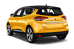 Car pictures of rear three quarter view of 2017 Renault Scenic Intens 5 Door Minivan Angular Rear