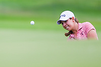 Kristin Gillman (USA) chips on to 11 during the round 1 of the KPMG Women's PGA Championship, Hazeltine National, Chaska, Minnesota, USA. 6/20/2019.<br /> Picture: Golffile | Ken Murray<br /> <br /> <br /> All photo usage must carry mandatory copyright credit (© Golffile | Ken Murray)
