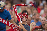 Commerce City, CO - Thursday June 08, 2017: Fans during a 2018 FIFA World Cup Qualifying Final Round match between the men's national teams of the United States (USA) and Trinidad and Tobago (TRI) at Dick's Sporting Goods Park.