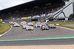 10.09.2017, N&uuml;rburgring, N&uuml;rburg, DTM 2017, 14.Lauf N&uuml;rburgring,08.09.-10.09.2017 , im Bild<br /> Rennstart:<br /> Paul Di Resta (GBR#3) Mercedes-AMG Motorsport SILBERPFEIL Energy, Mercedes-AMG C 63 DTM , Robert Wickens (CDN#6) Mercedes-AMG Motorsport Mercedes me, Mercedes-AMG C 63 DTM , Marco Wittmann (DEU#11) BMW Team RMG, Red Bull BMW M4 DTM , Timo Glock (DEU#16) BMW Team RMR, Deutsche Post BMW M4 DTM , Augusto Farfus (BRA#15) BMW Team RMG, Shell BMW M4 DTM , Gary Paffett (GBR#2) Mercedes-AMG Motorsport Mercedes me, Mercedes-AMG C 63 DTM <br /> <br /> Foto &copy; nordphoto / Bratic
