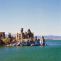 Mono Lake, California, USA - Tufa Towers and Rock Formations near Lee Vining