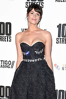 Gemma Arterton<br /> at the &quot;100 Streets&quot; UK premiere, Bfi South Bank, London.<br /> <br /> <br /> &copy;Ash Knotek  D3195  08/11/2016