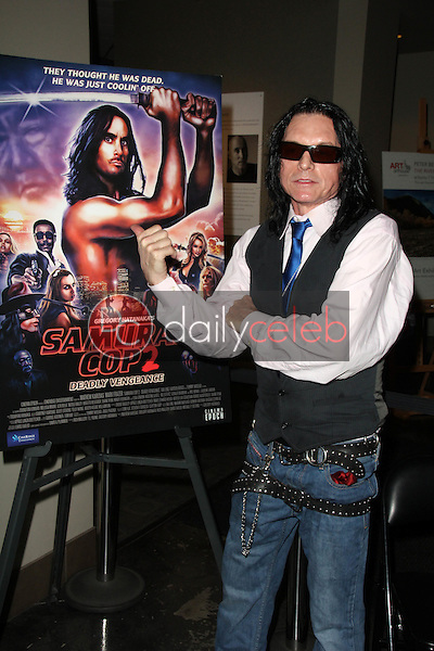 """Tommy Wiseau<br /> at the """"Samurai Cop 2: Deadly Vengeance"""" Premiere, Laemmle NoHo, North Hollywood, CA 10-09-15<br /> David Edwards/Dailyceleb.com 818-249-4998"""