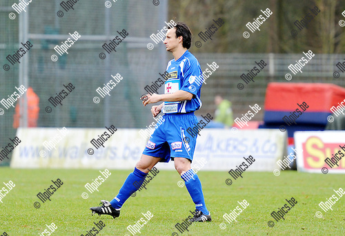 2011-01-23 / Seizoen 2010-2011 / Voetbal / KV Turnhout / Garry De Graef..Foto: mpics