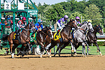 July 25, 2020: Prioritize ridden by Eric Cancel, trained by H James Bond in the 8th race on Alfred G Vanderbilt  Day at Saratoga Race Course in Saratoga Springs, New York. Rob Simmons/Eclipse Sportswire/CSM