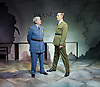 The Patriotic Traitor <br /> at Park Theatre, London, Great Britain <br /> press photocall <br /> 18th February 2016 <br /> <br /> Tom Conti as Philippe Petain<br /> <br /> Laurence Fox as Charles de Gaulle <br /> <br /> <br /> <br /> <br /> <br /> Photograph by Elliott Franks <br /> Image licensed to Elliott Franks Photography Services