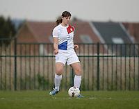 Women U15 : Belgian Red Flames - Nederland :<br /> <br /> Aniek Nouwen<br /> <br /> foto Dirk Vuylsteke / Nikonpro.be