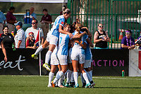 Kansas City, MO - Wednesday August 16, 2017: Alex Morgan during a regular season National Women's Soccer League (NWSL) match between FC Kansas City and the Orlando Pride at Children's Mercy Victory Field.