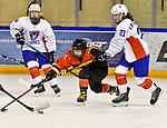 03.01.2020, BLZ Arena, Füssen / Fuessen, GER, IIHF Ice Hockey U18 Women's World Championship DIV I Group A, <br /> Frankreich (FRA) vs Japan (JPN), <br /> im Bild Shizuku Omiya (JPN, #10), Manon le Scodan (FRA, #21)<br /> <br /> Foto © nordphoto / Hafner