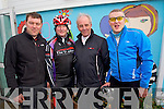 Pictured at the Fenit Coastal Cycle on Saturday were Brendan O'Connor (Camp) Tim Houlihan (Banna) John O'Connor (Camp) and David Elton (Tralee)..