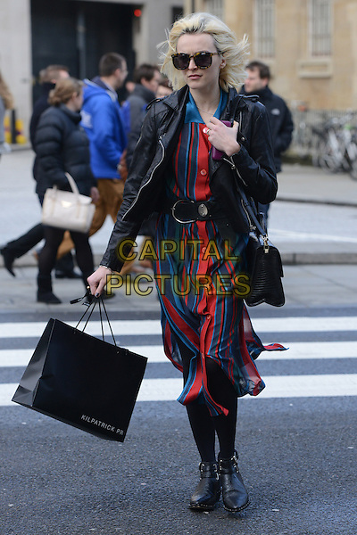 LONDON, UK - FEBRUARY 25 - Fearne Cotton arriving at the Radio One Studios, London, on Wednesday, February 25th, 2014. <br /> CAP/IA<br /> &copy;Ian Allis/Capital Pictures