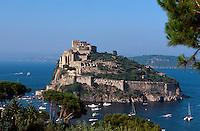 Italien, Ischia, Castello Aragonese in Ponte