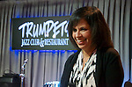 Diane Marino performed a mix of contemporary and Brazilian jazz and pop standards during her gig at Trumpets Jazz Club in Montclair where she was joined by Harry Allen on saxophone, Frank Marino on bass and Vince Ector on drums.