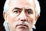 Nederland, Almelo, 22 december 2012.Bert van Marwijk is coach van een team van RTL7 die een wedstrijd speelt tegen een team van Radio 3FM. De opbrengst van de wedstrijd komt ten goede aan de actie Radio 3FM Serious Request 'Let's hear it for the babies'