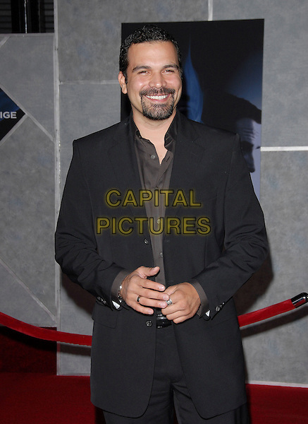 "RICARDO ANTONIO CHAVIRA.attends The Touchstone Pictures' Los Angeles Premiere of ""The Prestige"" held at The El Capitan in Hollywood, LA, California, USA, October 17th 2006..half length black suit beard.Ref: DVS.www.capitalpictures.com.sales@capitalpictures.com.©Debbie VanStory/Capital Pictures"