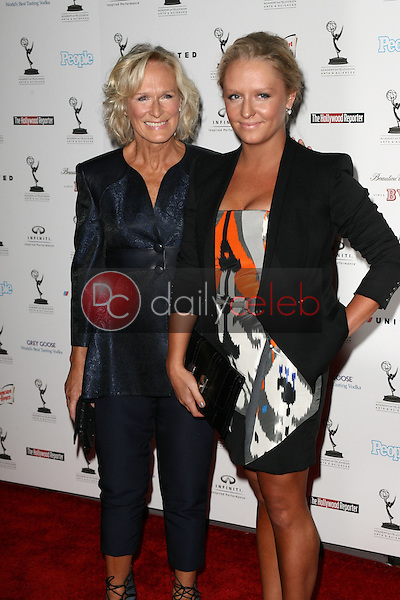 Glenn Close and daughter Annie<br /> at the 62nd Primetime Emmy Awards Performers Nominee Reception, Spectra by Wolfgang Puck, Pacific Design Center, West Hollywood, CA. 08-27-10<br /> David Edwards/Dailyceleb.com 818-249-4998