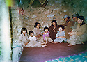 Iraq 1981 .On june 30th,  in the mountains, from right to left, Sabiha and Jabar Fermand, Arsalan Baez and  Pakchan Hafidand and  ? in the house of Ibrahim Jelal .Irak 1981 .Le 30 juin,dans les montagnes, de droite a gauche, Sabiha and Jabar Fermand, Arsalan Baez and Pakchan Hafid dans la maison d'Ibrahim Jelal